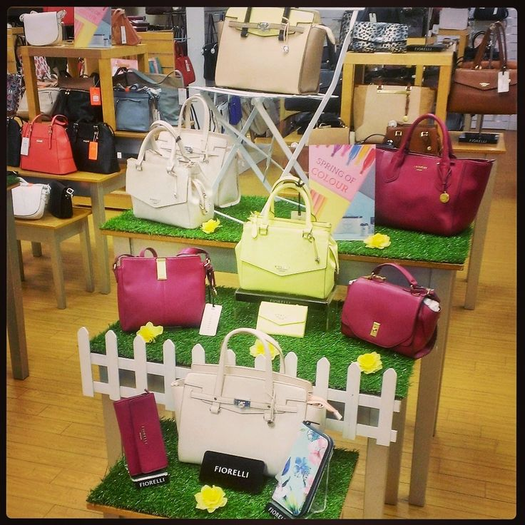Handbag Display At Beales Mansfield Summer