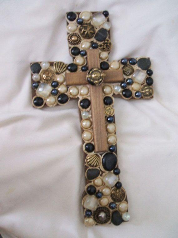 GRAN venta de Cruz dentro de una cruz una por UniqueDesign4You