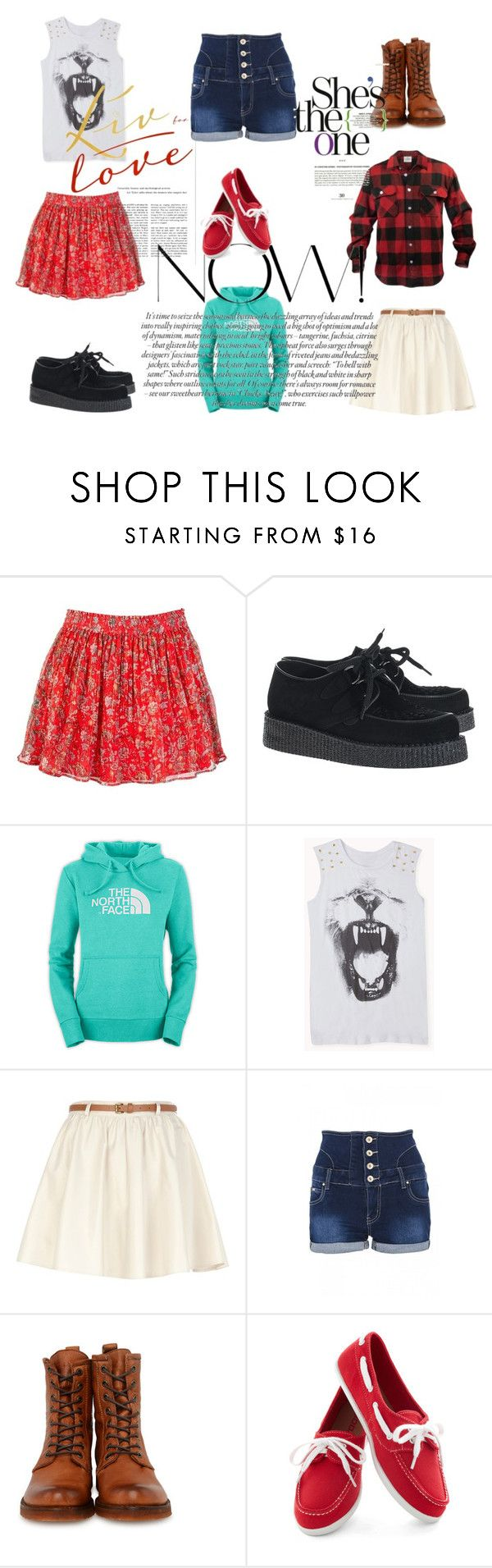 Casual by clarairawan on Polyvore featuring Forever 21, Jack Wills, Quiz, River Island, Underground and Frye