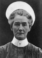 Edith Cavell, British Nurse. During WWI worked in Belgium. Saved lives on both sides. Helped some 200 Allied soldiers escape. Shot by a German firing squad.