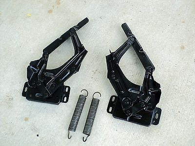 1966 Mustang Parts >> 1967-1972 Ford Truck Pickup Hood Hinges Original Pair F100 F250 F350 | Sold Parts | Ford trucks ...