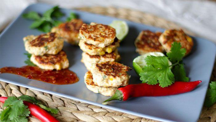 thai chicken bites