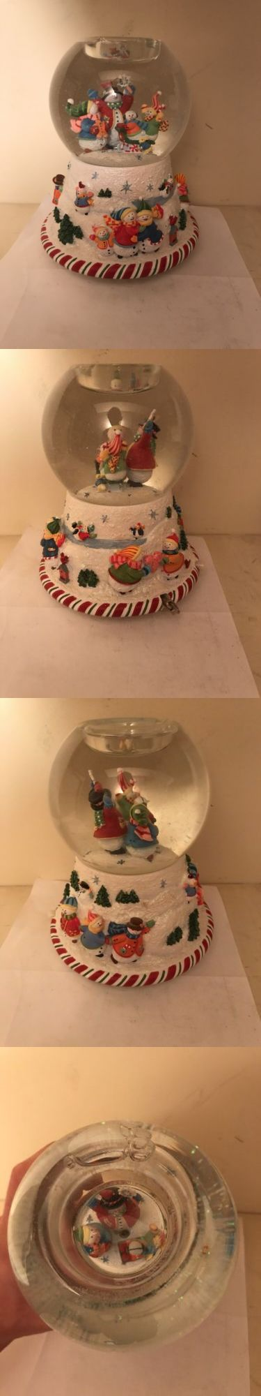 Candles and Candle Accessories 168138: New Partylite Peppermint Pals Tealight Snow Globe Snowman Plays Music -> BUY IT NOW ONLY: $30 on eBay!