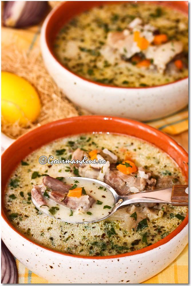 Lamb soup/ ciorba de miel