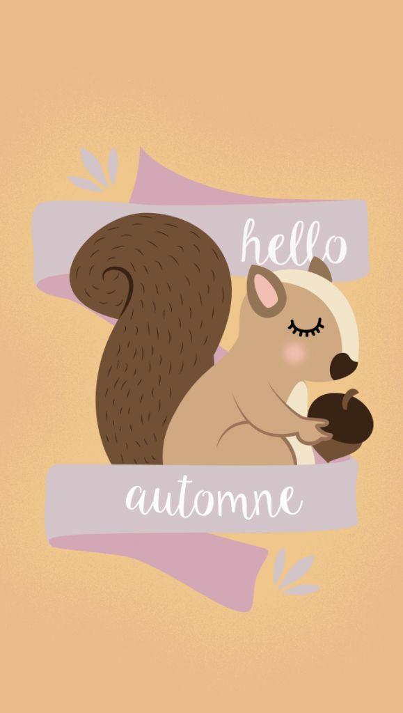 Fond d'écran à télécharger : Hello Automne