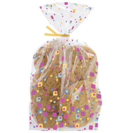 """20 sachets à biscuits et bonbons """"confettis"""" - Bonbons & Chocolats/Boites, Emballages & Présentoirs - Féerie Cake"""