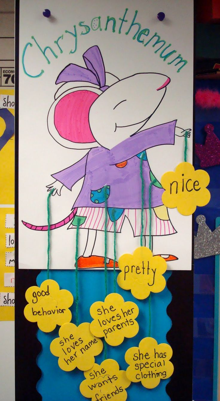 Character lesson - Make a big poster of the character and put sticky notes on it. Visual and active.: Ties Shoes, Idea, Tying Shoes, Kevin Henkes, Character Traits, Favorite Book, Chrysanthemums Character, Anchors Charts, Character Study