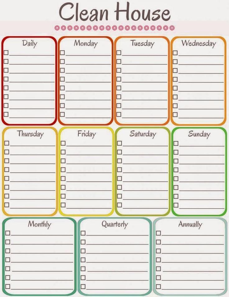 Weekly Cleaning Schedule Template Elegant Amy S Notebook 5 Printable C Cleaning Schedule Printable Cleaning Schedule Templates Free Printable Cleaning Schedule