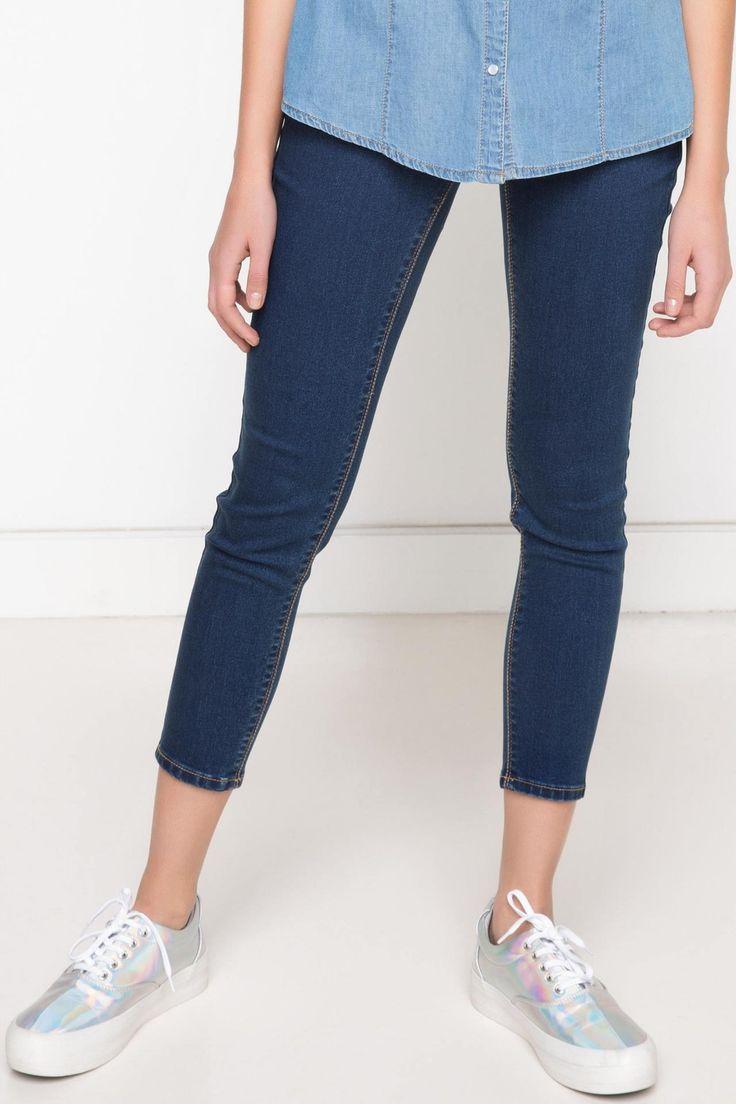 DeFacto Marka Skinny Denim Pantolon    Skinny dar paçası ile size fit bir görünüm kazandıracak, şık ve rahat DeFacto bayan pantolon                        http://www.1001stil.com/urun/3120475/skinny-denim-pantolon.html?utm_campaign=DeFacto&utm_source=pinterest