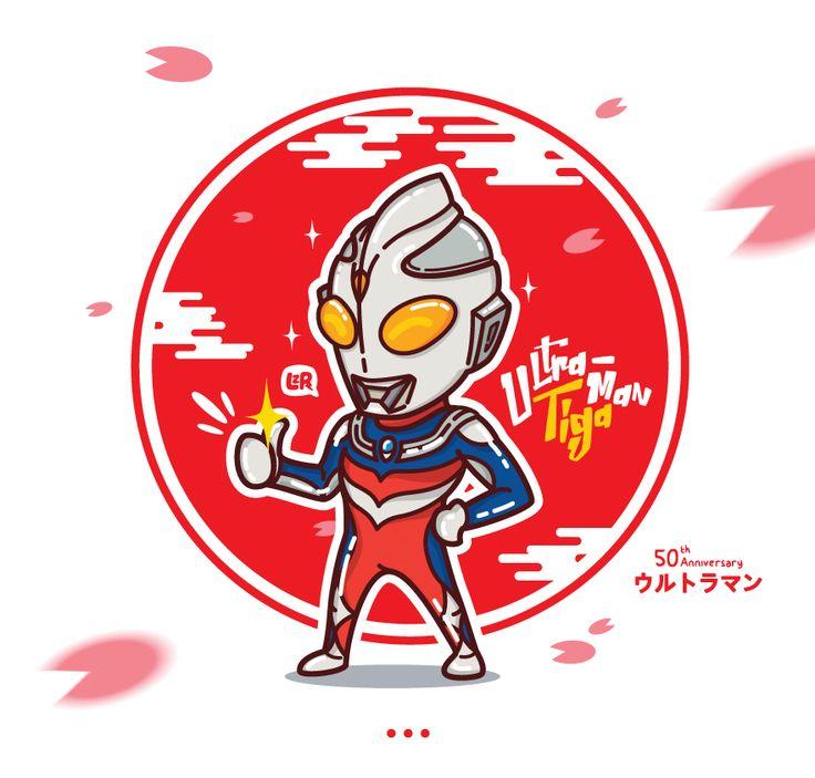 Ultraman Tiga..