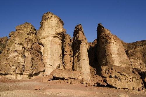 King's Solomons Pillars, Israel