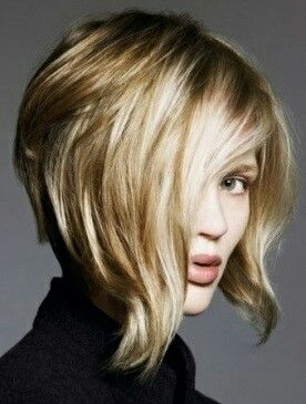 nverted Bob Hair Style