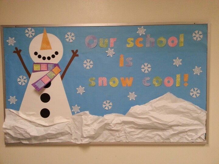 Winter School Bulletin Board Ideas
