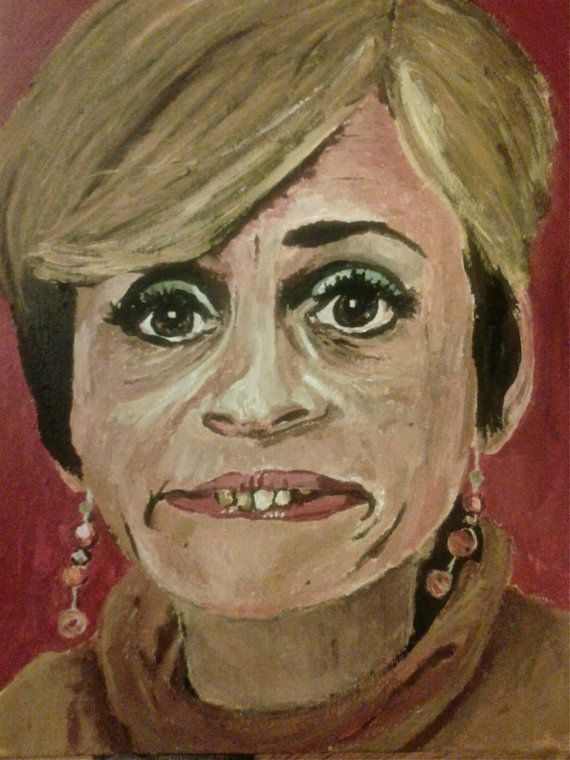 Jerri Blank (Strangers with Candy) 11x14 Print of Acrylic Portrait on Etsy, $18.00