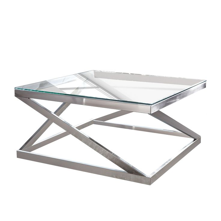 Couchtisch Sawl - Metall / Glas - Silber, Fredriks Jetzt bestellen unter: https://moebel.ladendirekt.de/wohnzimmer/tische/couchtische/?uid=135f7047-88f6-510a-9517-529ae8333b5c&utm_source=pinterest&utm_medium=pin&utm_campaign=boards #möbel #fredriks #beistelltische #couch #wohnzimmer #couchtische #tische