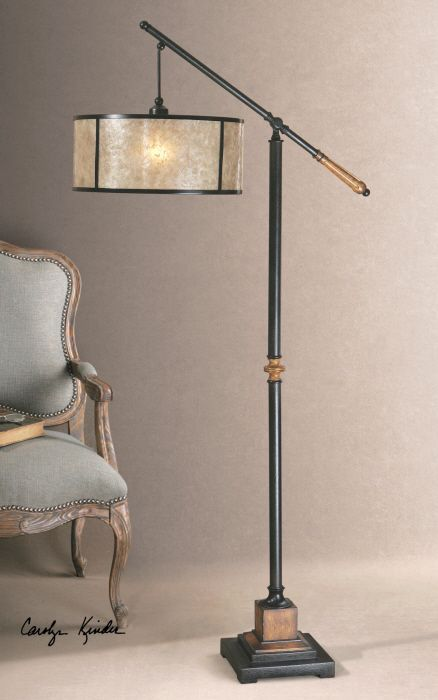 Lowest Price Online On All Uttermost Sitka Lantern Metal Floor Lamp In Aged  Black