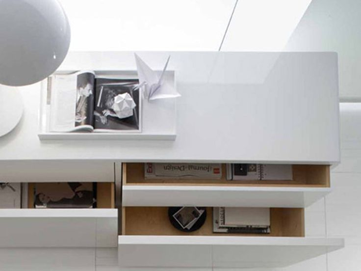 MDF sideboard CUBIC by ALIVAR   design Enrico Cesana
