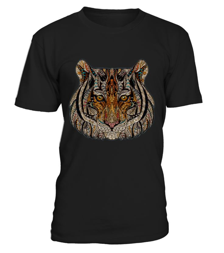 Tiger Face Painting  Funny Tiger T-shirt, Best Tiger T-shirt
