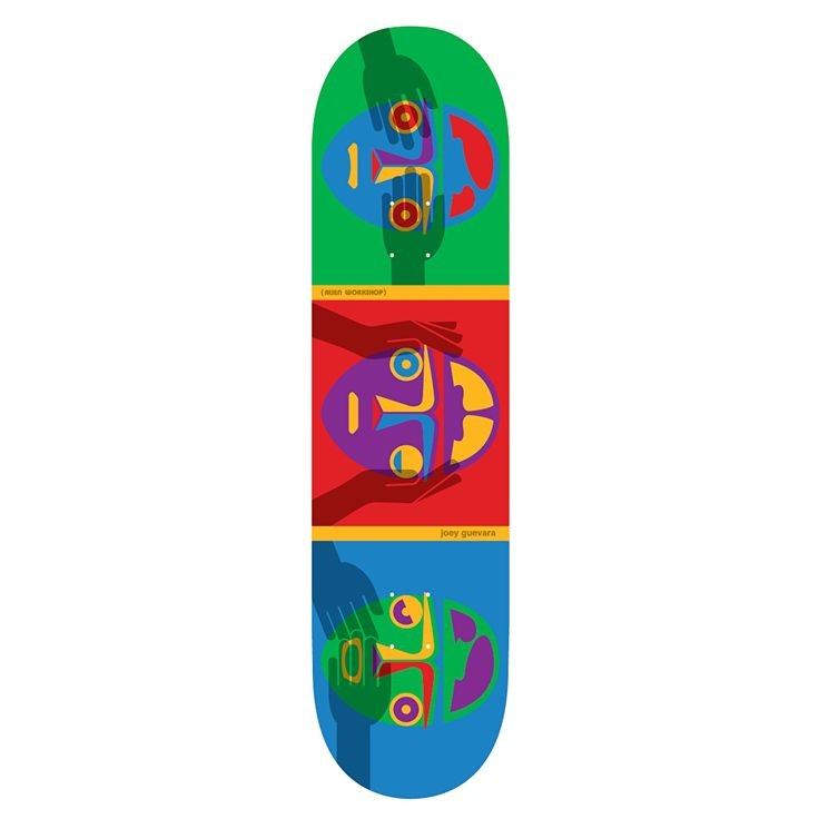 Alien Workshop Guevara No Evil Pro Skateboard Deck - 8"