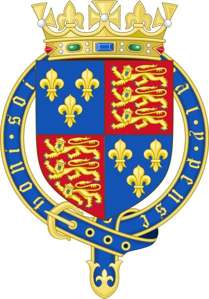 Royal coat of arms of england 1399 1603 heraldry for Piscine meaning in english