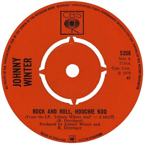 RICK DERRINGER - Rock & Roll Hoochie Koo (1973)