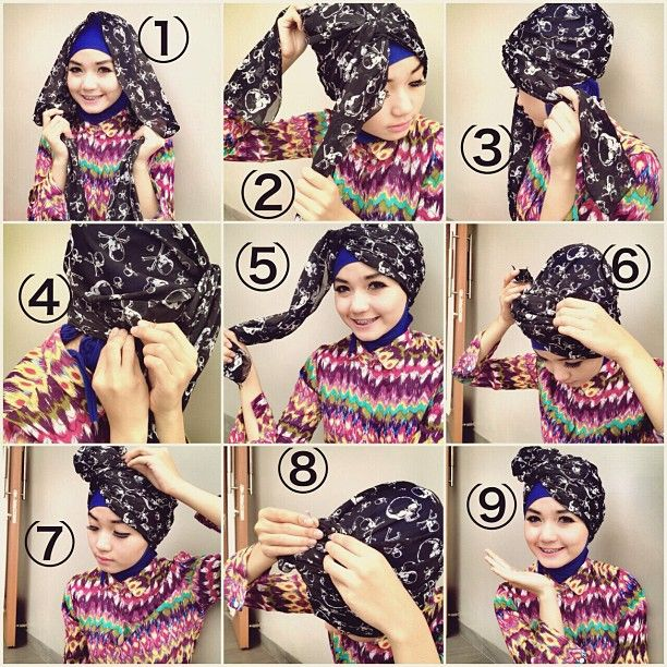my tutorial hijab #1