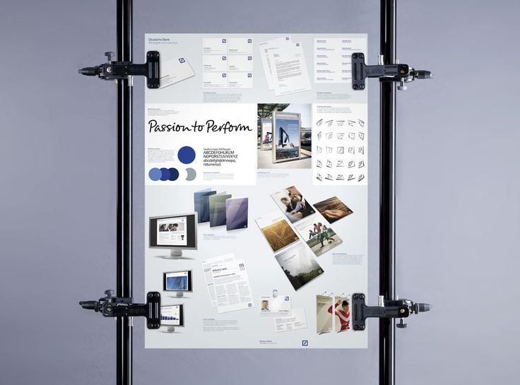 Deutsche Bank brand posters Marketing Pinterest