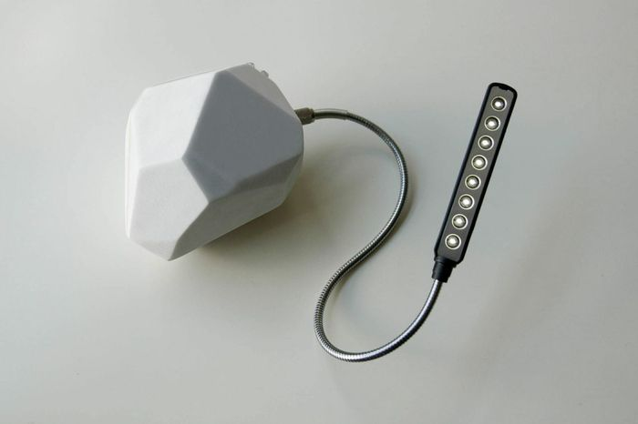 Light made by music...lighting the world where the power grid can't go. Check out the website for videos. https://www.kickstarter.com/projects/726552172/shakeyourpower