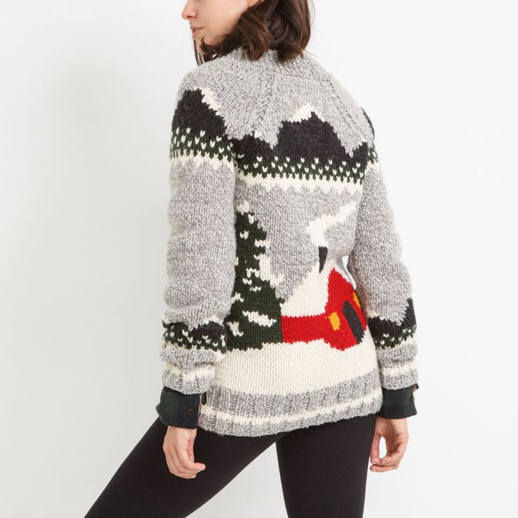 Mary Maxim Cabin Sweater | Roots
