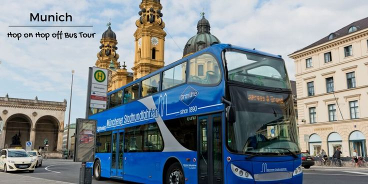 Hop on hop off Munich bus tours are great to see all the Munich attractions. Get on and off as many times as you like in summer or winter.