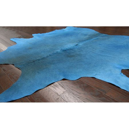 A Natural Area Rug In A Distinctive Azure Design. Cow Hide Hand Made Made  In Brazil Covers Approx X Nuloomu0027s Creations Infuse Their Expertise In