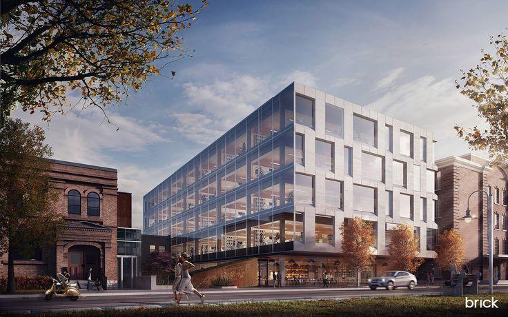 80 Atlantic designed by Quadrangle Architects on Behance