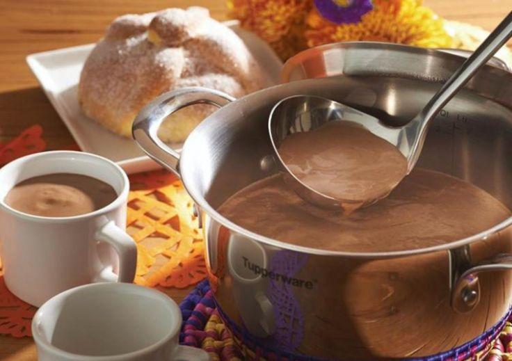 Atole de Pinole con Chocolate
