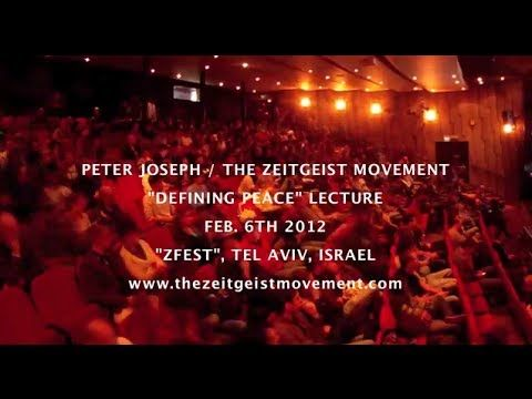 Defining Peace – A Lecture by Peter Joseph ~ http://wakingtimes.com/gallery/2014/07/01/defining-peace-full-lecture-peter-joseph/