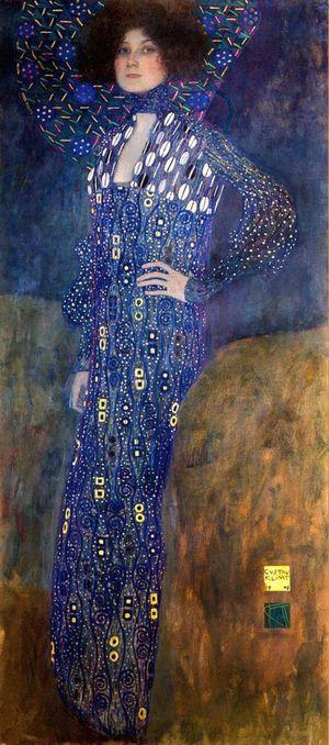 Portrait of Emilie Flöge, 1902–03