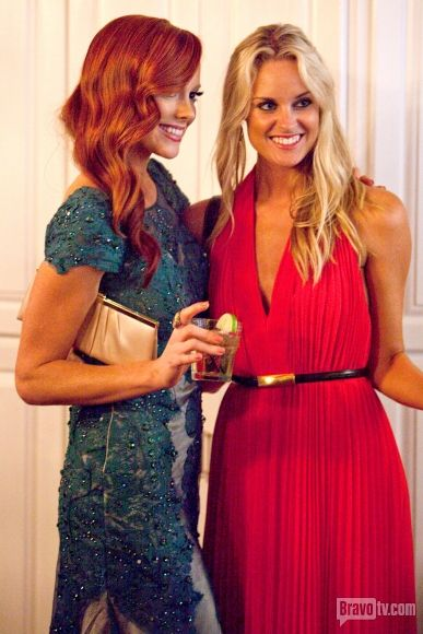Southern Charm Photos | White Lies (and Ties) at Carolina Day - Kathryn Calhoun Dennis with Shep's ex Danni