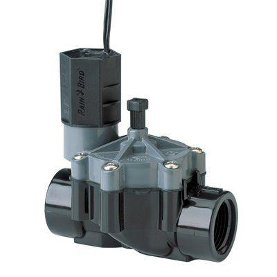 17 best ideas about irrigation valve raised garden rain bird 3 4 in plastic electric inline irrigation valve