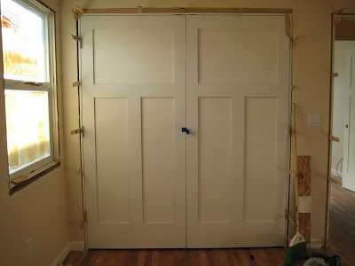 CLOSET DOOR SEARCH: Is This Lovely Simplicity? Or...uh.. Shaker StyleCloset  ...