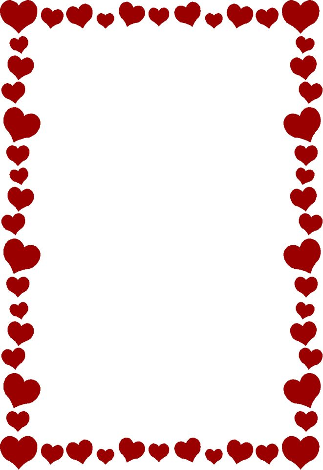 51 best heart borders images on pinterest writing paper