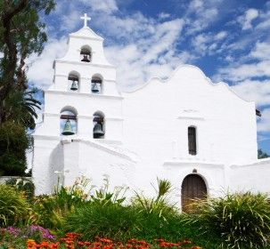 Mission San Diego de Alcala in San Diego, California. 1st California Mission 2.5 hours away from home