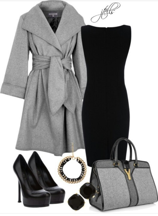 Black and gray..... Love it