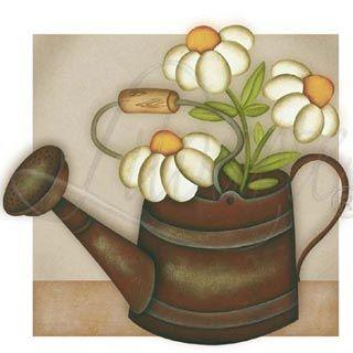 Pinturas e riscos.: Risco flores