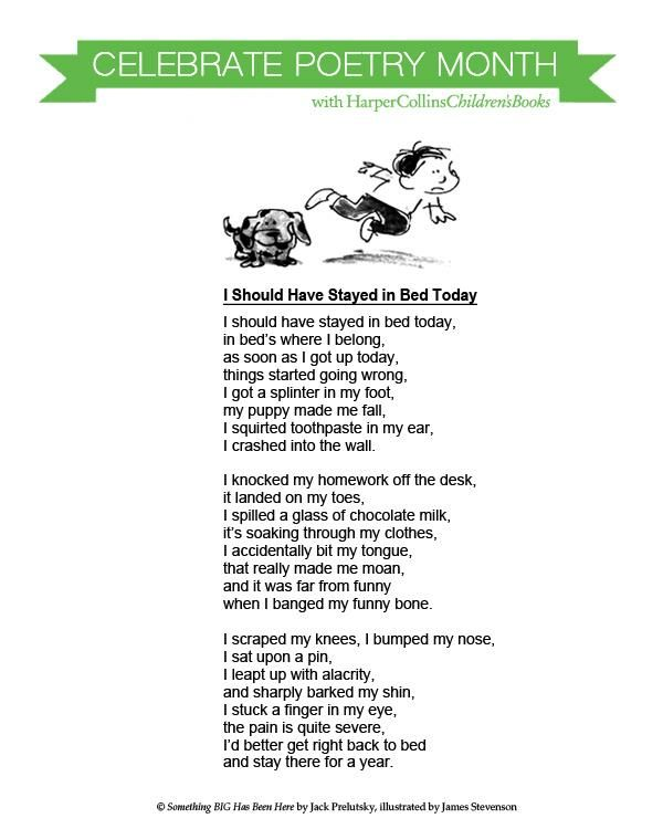 81 best childrens poetry images on pinterest 3rd grade reading poetry books and christmas fun - Funny Halloween Poems For Kids