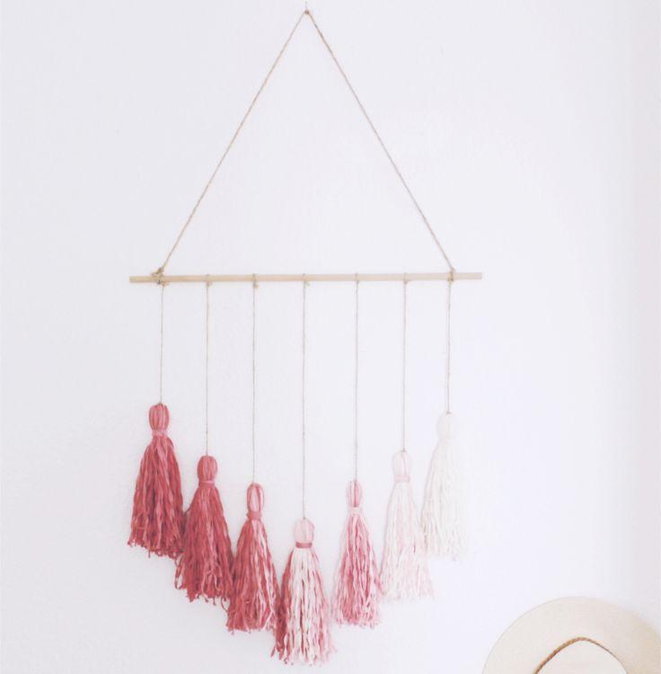 25 einzigartige wanddeko selber machen ideen auf pinterest wanddeko selbstgemacht kreative. Black Bedroom Furniture Sets. Home Design Ideas