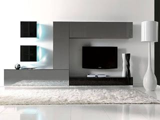 HOME DECOR: 10 Modern TV Wall Units Furnish House