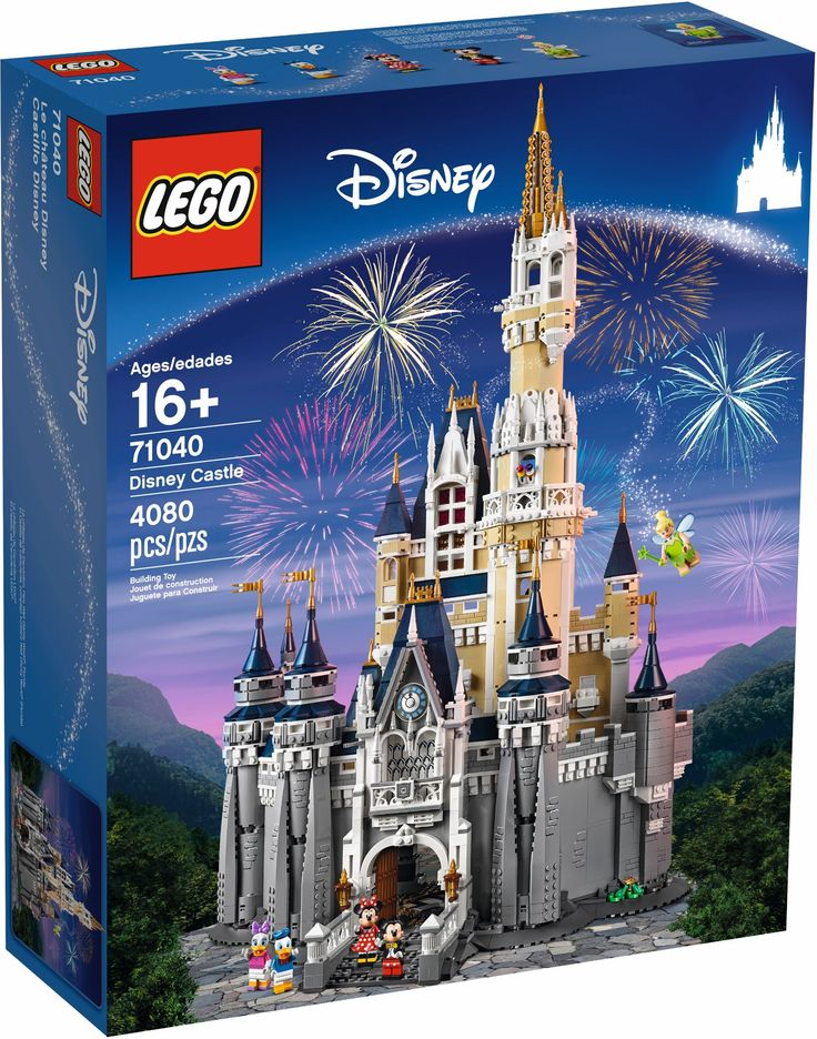 Lego Disney Castle 71040 available now from Lego Online VIP access