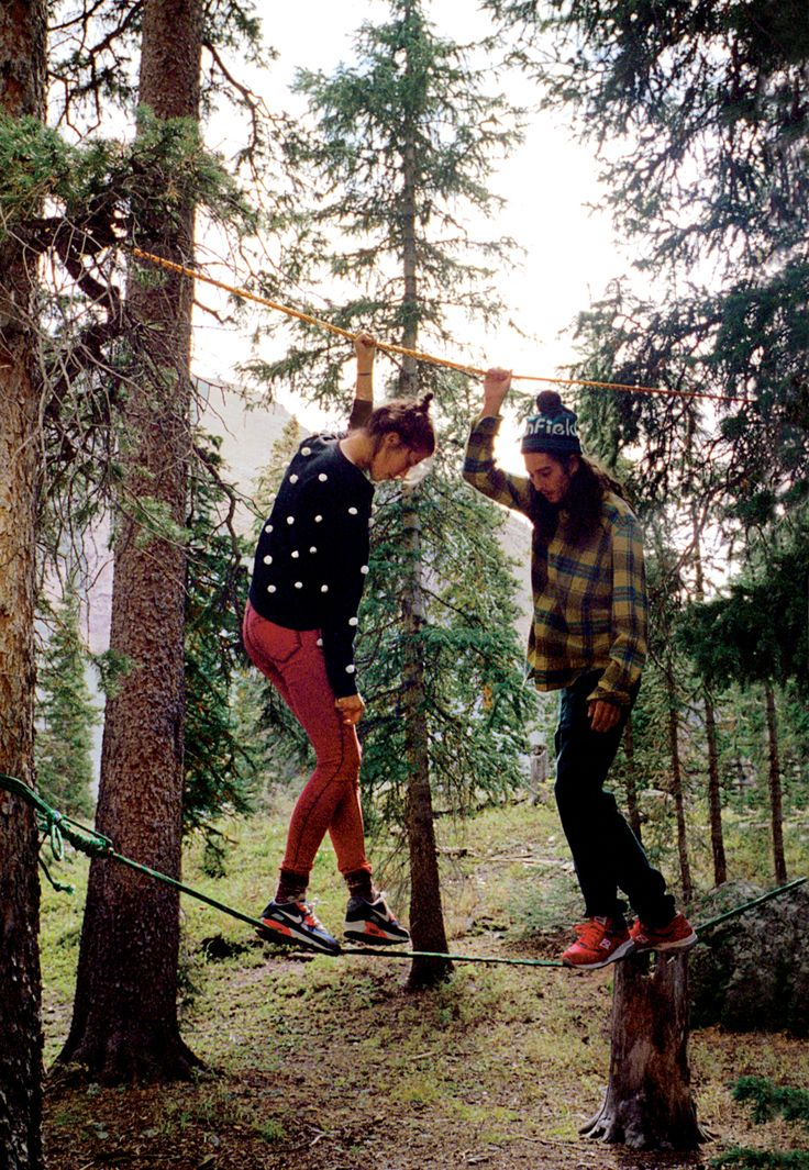 tree tightrope, Photography by Cass Bird #urbanoutfitters