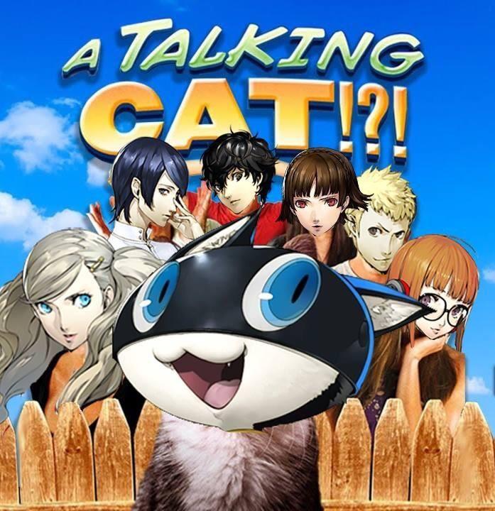 Alternate cover art for Persona 5