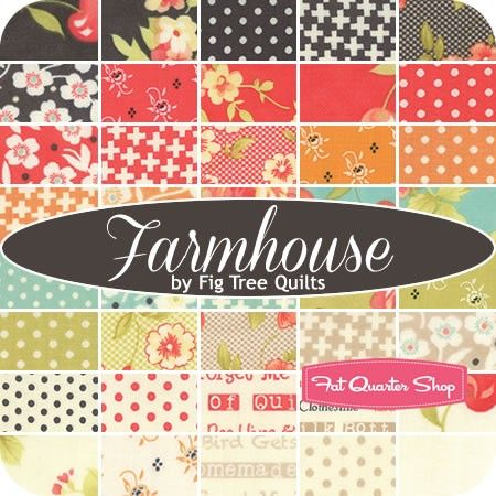 Farmhouse Yardage<BR>Fig Tree Quilts for Moda Fabrics