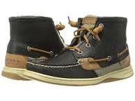 Black marella sperry high tops ... BEST THING EVER